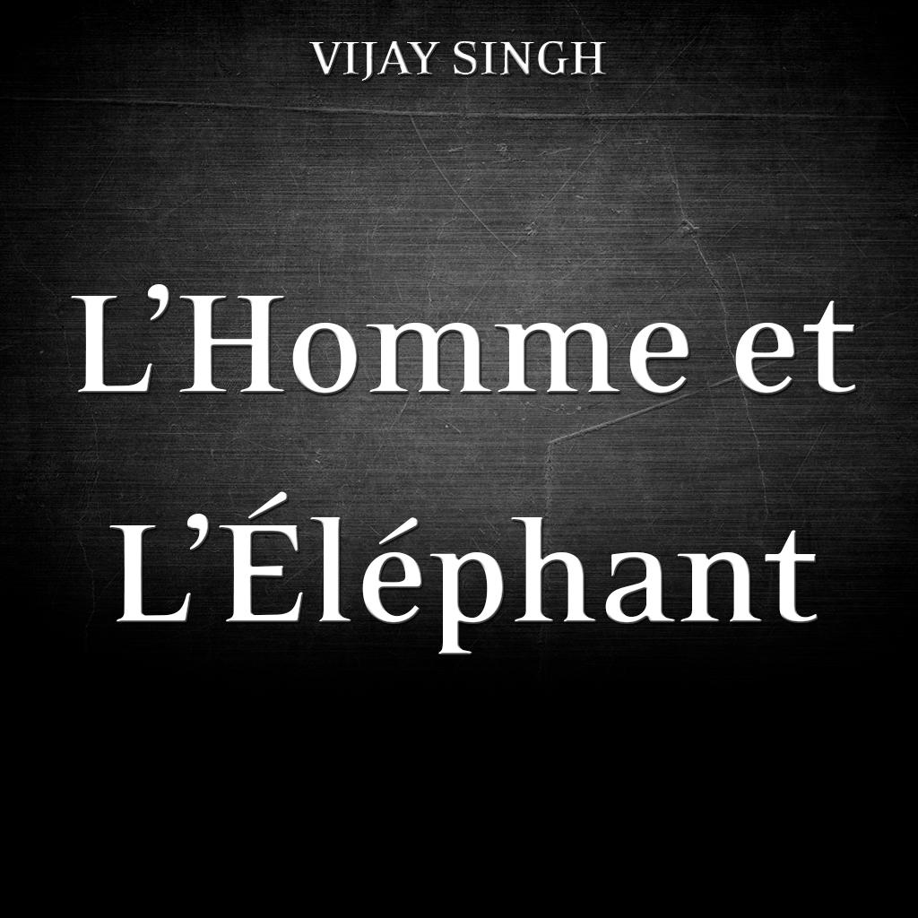 L'Homme et L'Elephant-Affiche